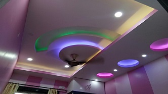 False Ceiling Interior Design At Very Low Cost In Kolkata West