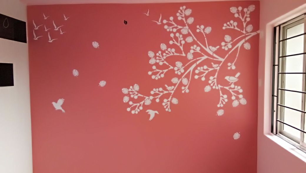 West Interiors Home Wall Painting Work Kolkata